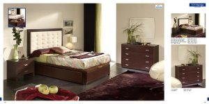 Wenge Bedroom Set-515