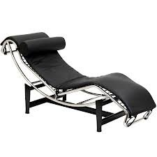 Modern Le Corbusier Leather Lounge Chair