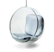 Euro Aarno Style Hanging Bubble Chair