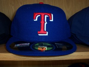 Texas Rangers Road Fitted