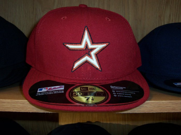 Houston Astros Alternate Fitted