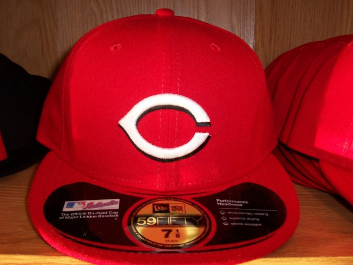 Cincinnati Reds Home Fitted
