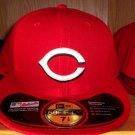Cincinnati Reds Home Fitted