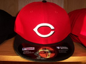 Cincinnati Reds Road Fitted