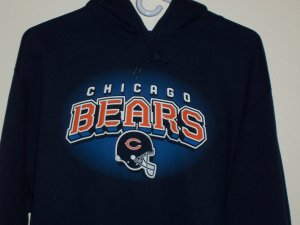 Reebok Chicago Bears Deep Obsidian Fleece Hoodie