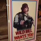Wild Bill wants you 1941 advance movie poster