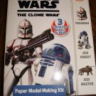 Star Wars The Clone Wars Paper Modeling Making Kit