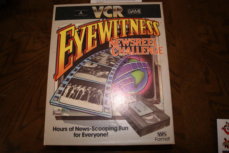 Eyewitness Newsreel Challenge