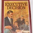 Executive Decision 'bookshelf game'