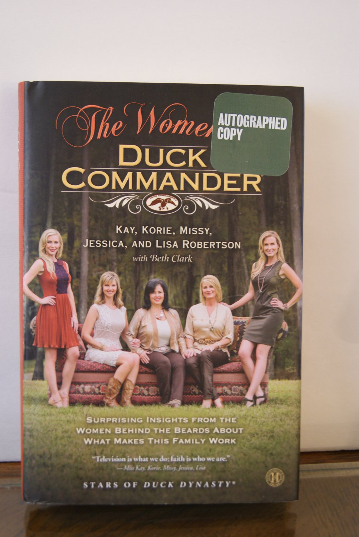 The Women of Duck Commander 'autographed copy'