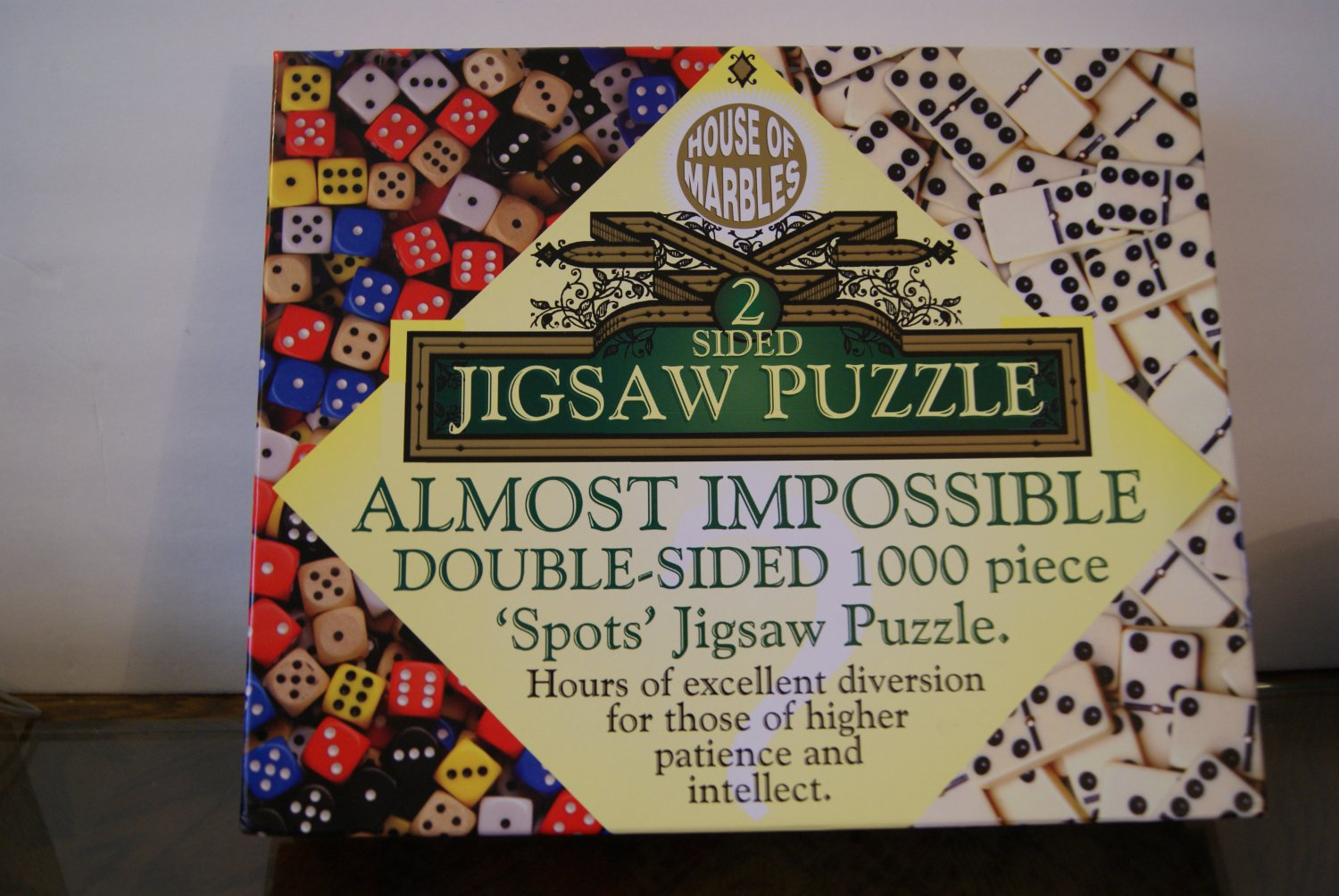 2 Sided Jigsaw Puzzle