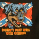 Battle flag tee,...doesn't play well with others
