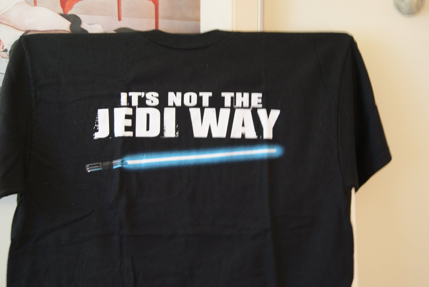 Star Wars It's not the Jedi way tee