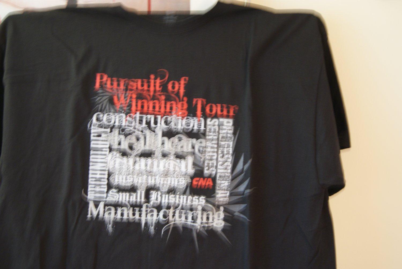 Pursuit of winning tour tee