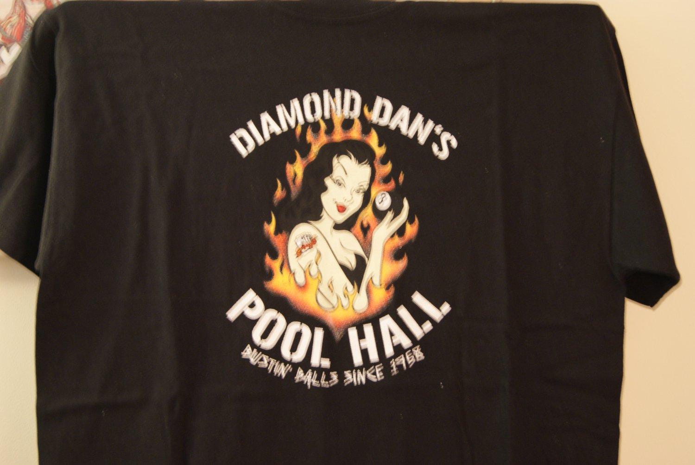 Diamond Dan's pool hall tee