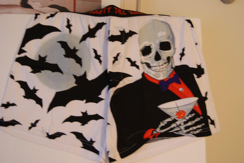 Skeleton & Bats boxer