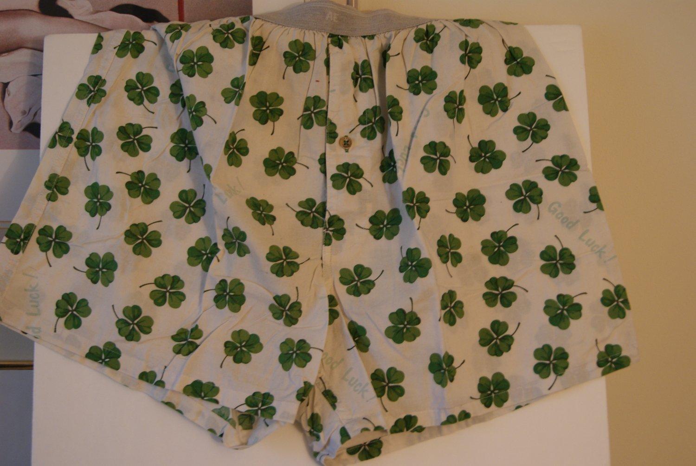 Four leaf clover boxers