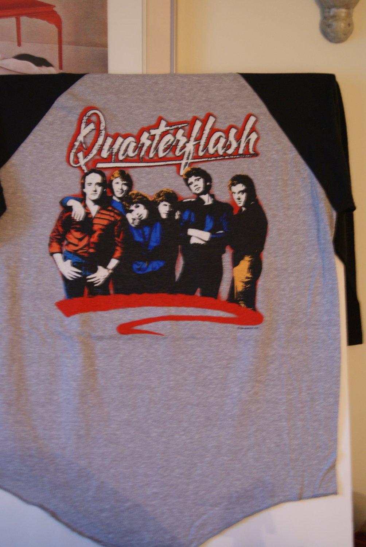 Quarterflash concert tee