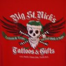 Big St. Nick's Tattoos & Gifts tee