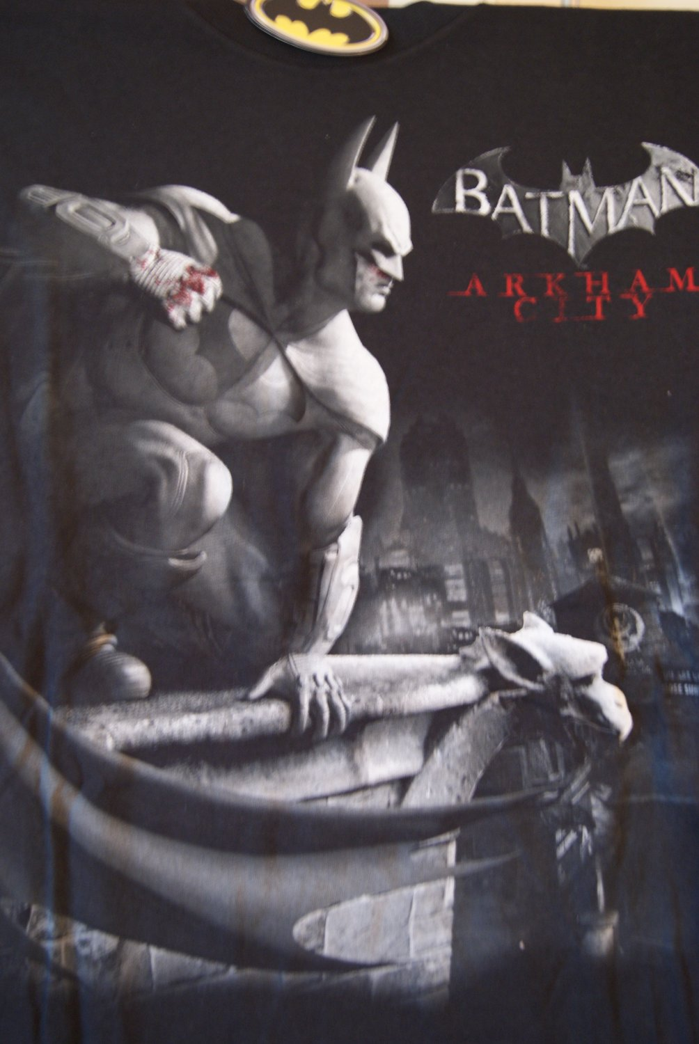 Batman Arkham City tee 2