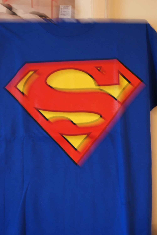 Superman tee 3