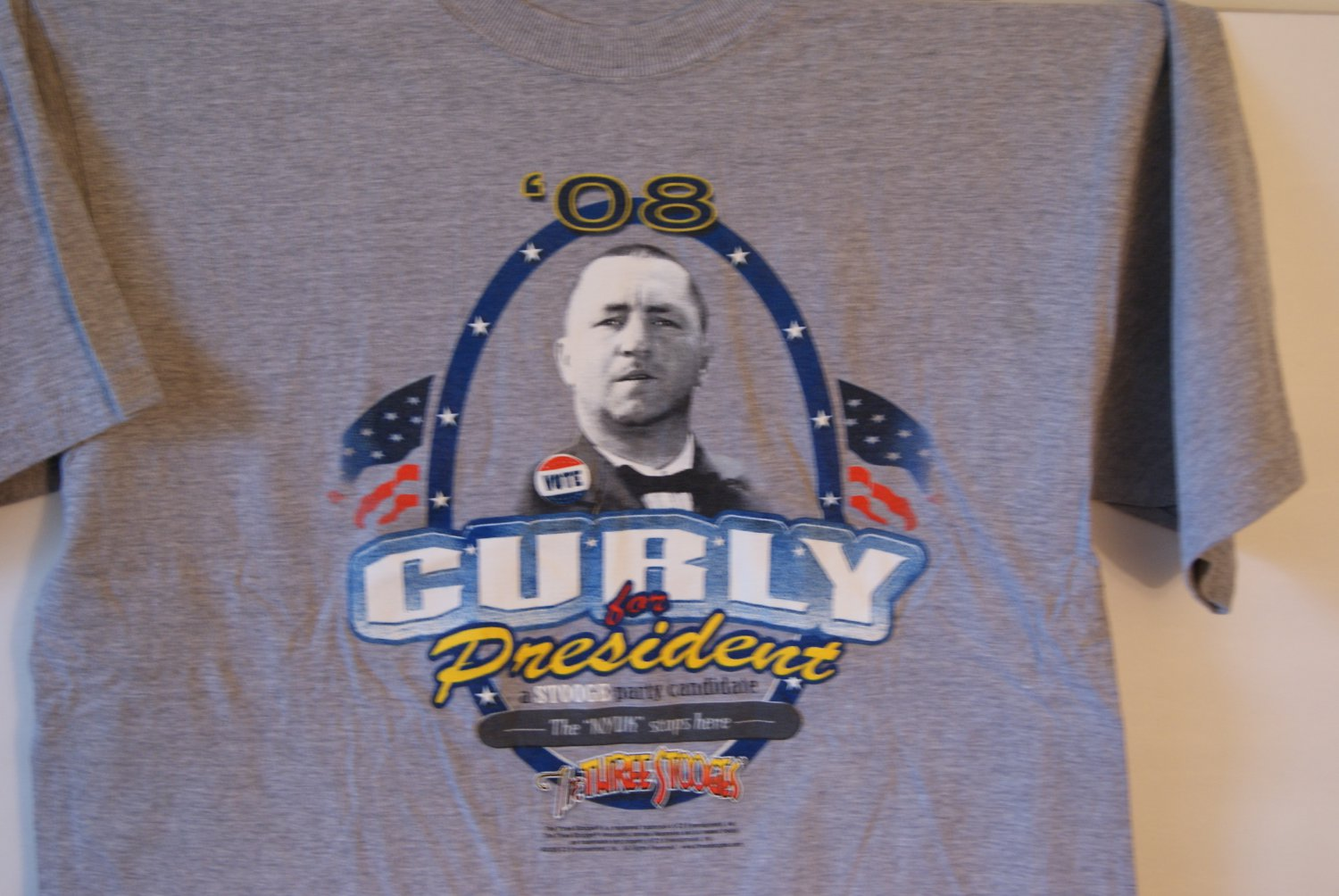Curly for President tee