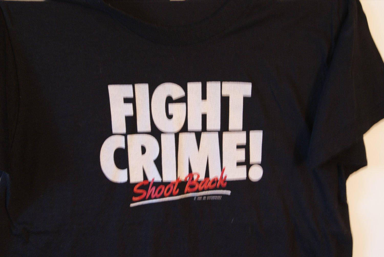 Fight Crime tee