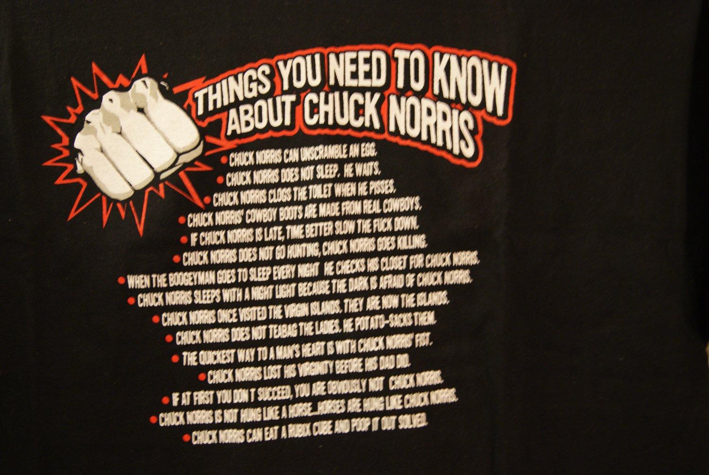 Chuck Norris tee 2
