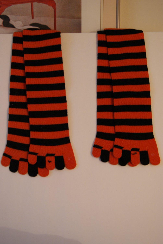 Halloween toe socks