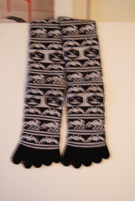 Halloween toe socks 2