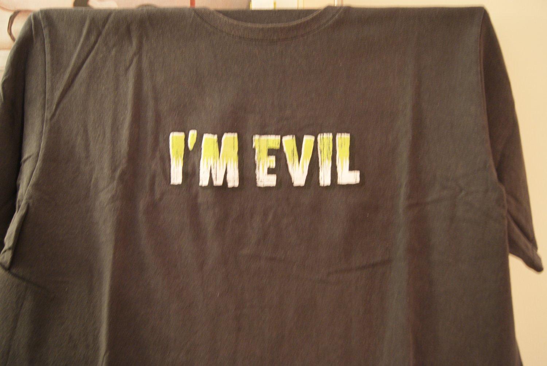 I'm Evil tee