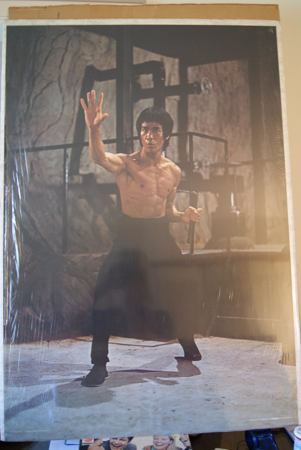 Bruce Lee poster / Enter the Dragon
