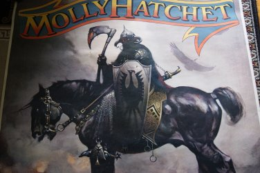Molly Hatchet / The Death Dealer promotional poster