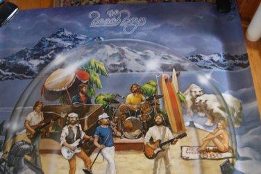 The Beach Boys / world tour 1980 promotional poaster