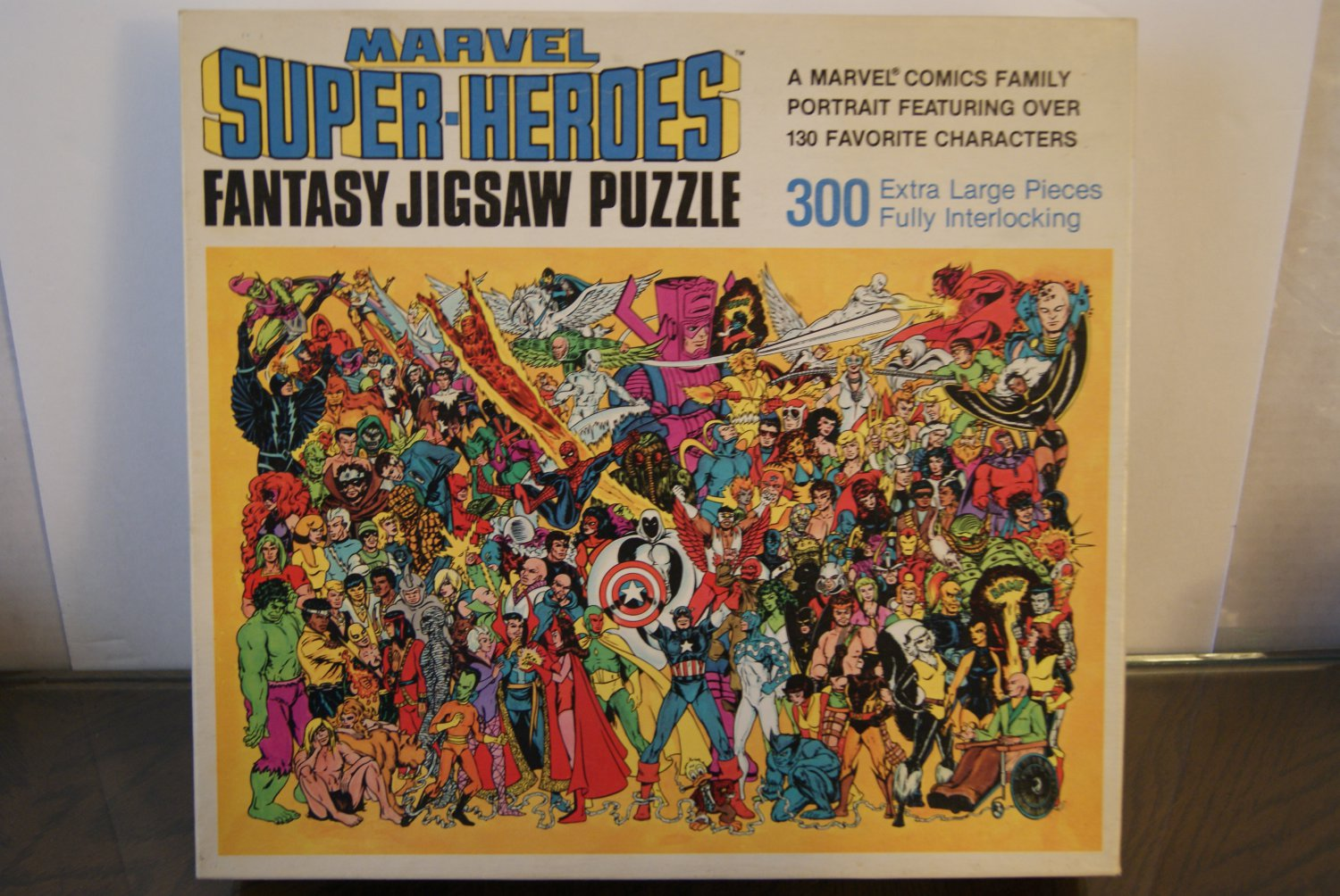 Marvel Super-Heroes Fantasy Jigsaw Puzzle