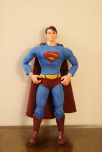 Superman Returns action figure / Superman returns movie booklet