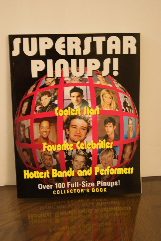 Superstar Pinups booklet