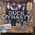 Duck Dynasty redneck wisdom game