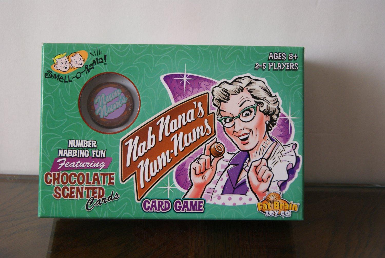 Nab Nana's Num-Nums game