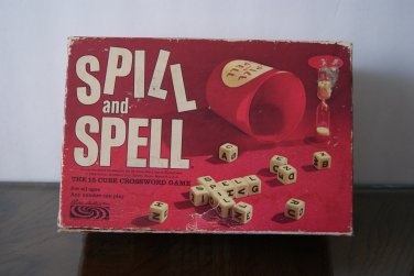 Spill and Spell game