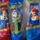 Toy Story pez dispensers