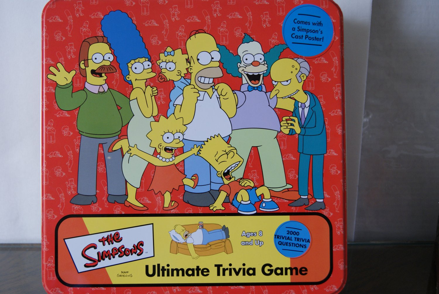 The Simpsons Ultimate trivia game