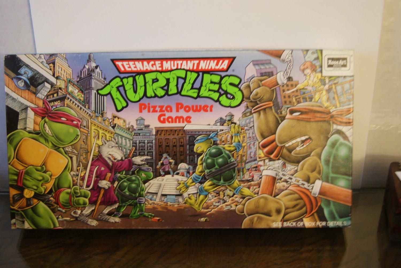 Teenage Mutant Ninja Turtles / Pizza Power game