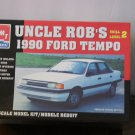 Uncle Rob's 1990 Ford Tempo model box
