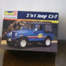2 'n 1 Jeep CJ-7 model box