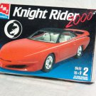 Knight Rider 2000 model kit box