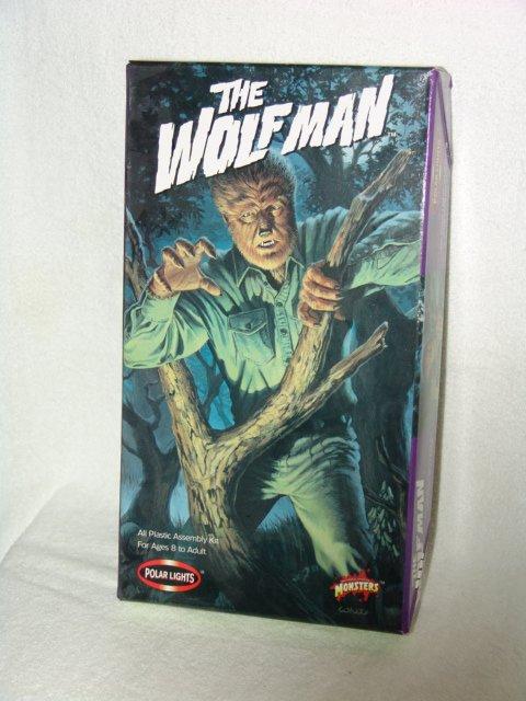 The Wolfman model kit box