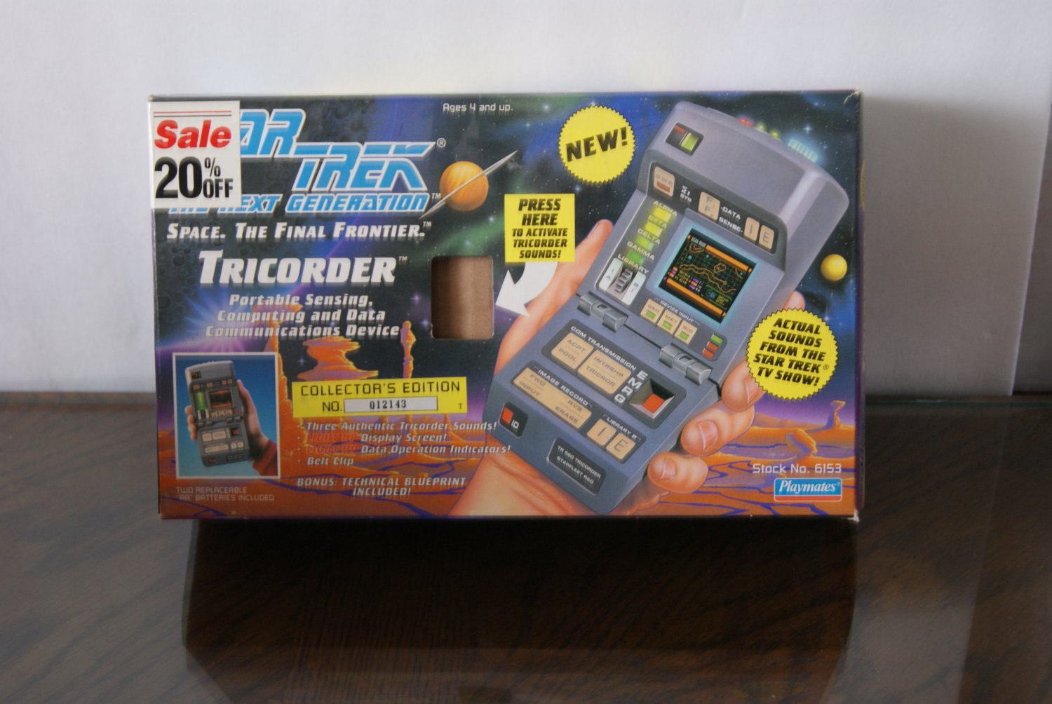 Star Trek / The next Generation Tricorder