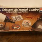 Gus Grissom Memorial Combo W / Two collectors Patches