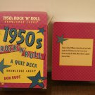 "1950's Rock ""n Roll Quiz deck game/ MGM photo trivia game"